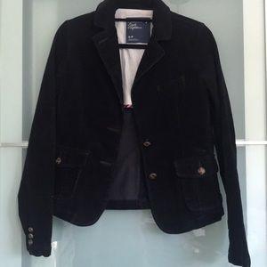 Abercrombie & Fitch corduroy Navy blazer Small